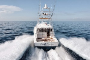 Cool Daddio is a Cabo 44 HTX Yacht For Sale in Hyannis-Transom-41