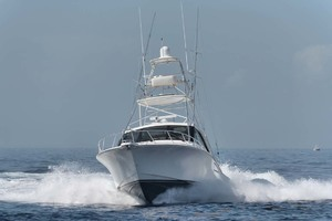 Cool Daddio is a Cabo 44 HTX Yacht For Sale in Hyannis-Bow Profile-14