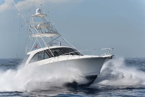Cool Daddio is a Cabo 44 HTX Yacht For Sale in Hyannis-Starboard Bow - Running-44