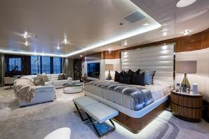 Master Bedroom with Oversized Bed