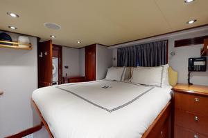 WONDER is a Crescent Raised Pilothouse Yacht For Sale in West Palm Beach-Captain's Cabin-49