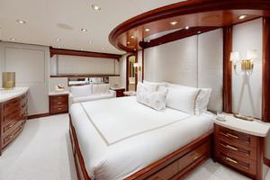WONDER is a Crescent Raised Pilothouse Yacht For Sale in West Palm Beach-Master Stateroom-34