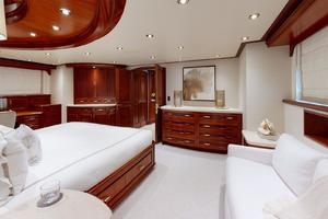 WONDER is a Crescent Raised Pilothouse Yacht For Sale in West Palm Beach-Master Stateroom-35