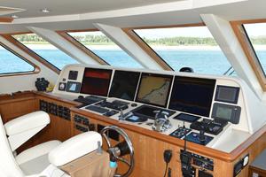 Blue Steele is a Cheoy Lee 103 Cockpit Sky Lounge Yacht For Sale in Cabo San Lucas-2011 Cheoy Lee 103' 103 Cockpit Motor Yacht - Blue Steele - Flybridge-50