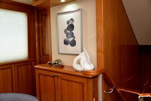 Blue Steele is a Cheoy Lee 103 Cockpit Sky Lounge Yacht For Sale in Cabo San Lucas-2011 Cheoy Lee 103' 103 Cockpit Motor Yacht - Blue Steele - Decor-7