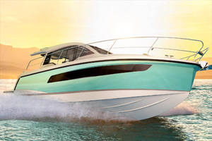 Picture Of a 2022 Sealine 33 C335v Motor Yachts | 1605045