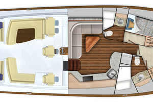 Option #1 2-Stateroom Layout
