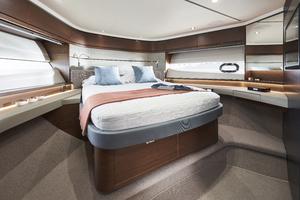S66 Interior Forward Guest Cabin Walnut Satin