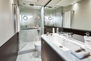 S66 Interior Owners Bathroom Walnut Satin
