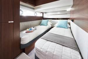 S62 Interior Starboard Guest Cabin