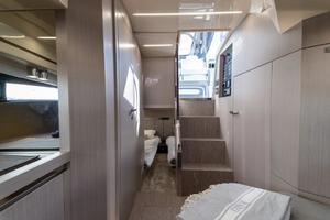 Cabin facing Aft
