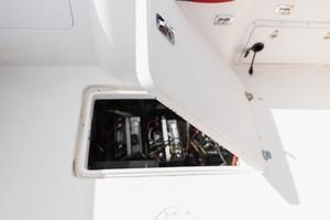 Donzi 35 - Lana - Engine Compartment