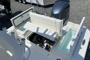 Aft Storage and Bilge Access