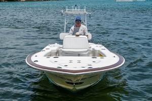 Enviboats Skiff 17 - Bow Profile