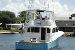 Monterey 58 - SIMPATICA - Aft Profile