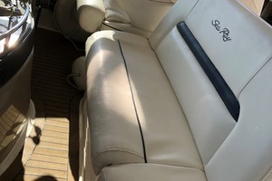 Sea Ray 42 - The Beat Goes On -  Helm Seating