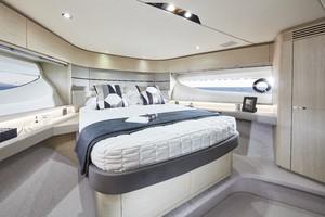 V60 Interior Forward Cabin Alba Oak Satin