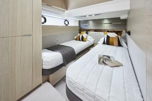 V60 Interior Starboard Cabin Alba Oak Satin
