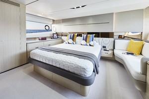 V60 Interior Owners Stateroom Alba Oak Satin
