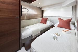 62 Interior Starboard Cabin Walnut Satin