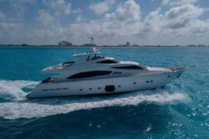Fortis II is a Ferretti Yachts 881 Yacht For Sale in Cancun--1