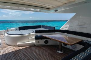 Fortis II is a Ferretti Yachts 881 Yacht For Sale in Cancun--63