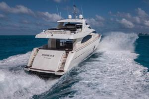 Fortis II is a Ferretti Yachts 881 Yacht For Sale in Cancun--7