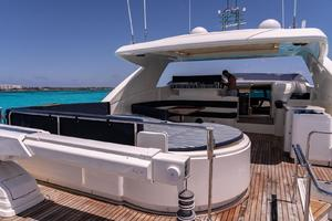 Fortis II is a Ferretti Yachts 881 Yacht For Sale in Cancun--61
