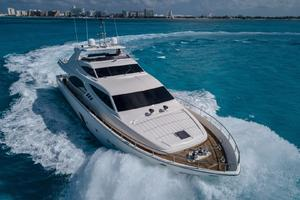 Fortis II is a Ferretti Yachts 881 Yacht For Sale in Cancun--5