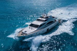 Fortis II is a Ferretti Yachts 881 Yacht For Sale in Cancun--2
