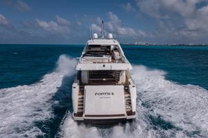 Fortis II is a Ferretti Yachts 881 Yacht For Sale in Cancun--8
