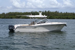 Grady-White 30 Sea Number - Starboard Profile
