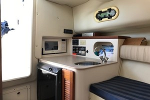 Pursuit 28 - Wired Up - Cabin/Galley