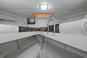 Broward 102 - Andiamo- Crew/guest cabin