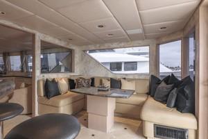 Broward 102 - Andiamo - Aft Lounge