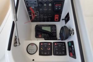 Viking 42 - Renegade - Bridge Helm Station