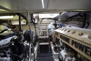 Riviera 47 - Concetta III - Engine Room