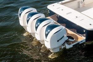 DIS IS IT is a Regulator 41 Yacht For Sale in Destin-2018 41 Regulator   Transom-26