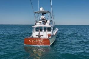 Rybovich 45 - Cygnet - exterior stern