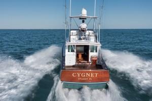 Rybovich 45 - Cygnet - stern running