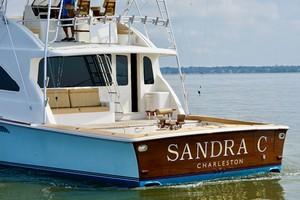 Ocean 73 - Sandra C - Aft Profile