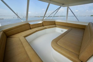 Ocean 73 - Sandra C - Flybridge Lounge