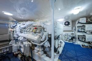 Viking 56 - 4 Aces - engine room