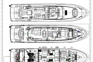 Horizon 110 - Neverland - deck plan