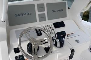 Intrepid 34 - Helm Double Garmin screens with radar