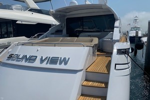 Pershing 64 - SoundView - Aft Profile