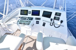 Cajun Queen is a Cabo 48 Convertible Yacht For Sale in Cabo San Lucas -2004 Cabo 48 Convertible -  Helm-17
