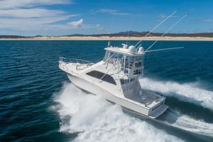 Satisfaction is a Cabo 48 Yacht For Sale in Cabo San Lucas-Port Aft Running-3