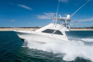 Satisfaction is a Cabo 48 Yacht For Sale in Cabo San Lucas-Port Side Running-4