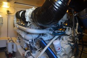 Bertram 51 Reel Friends-engine room